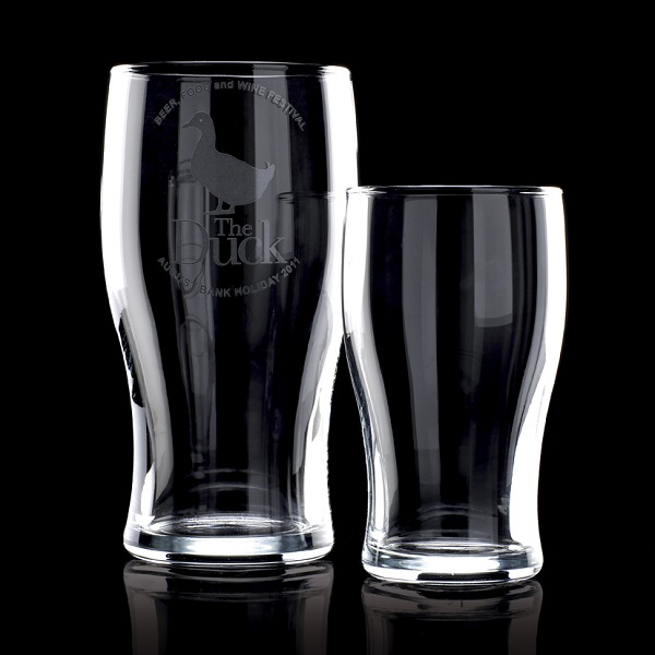 Tulip Pint Glass bulk packed